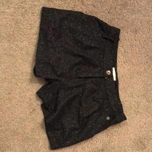 Wool shorts Anthropologie